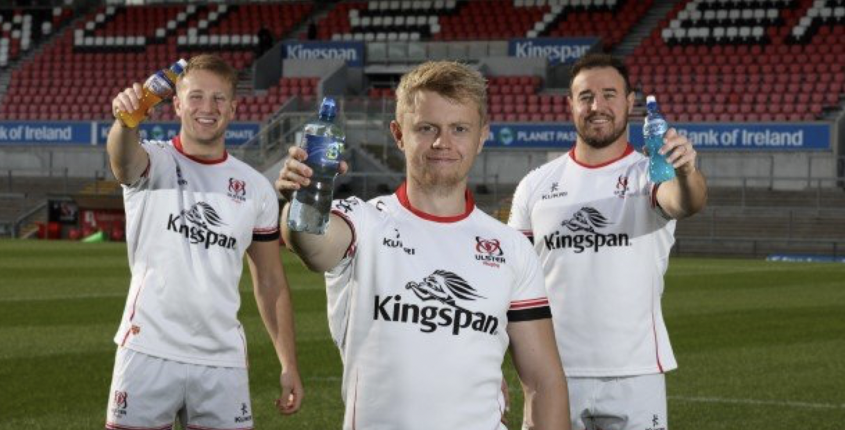 Ulster Rugby Signs Official Soft Drinks Partnership