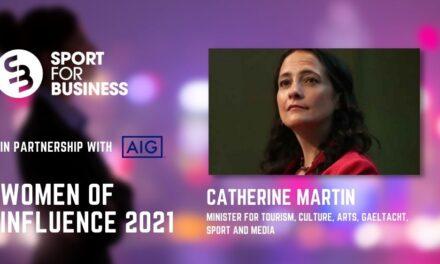 50 Women of Influence in Irish Sport – Catherine Martin